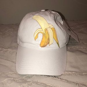 Accessories - Hand painted (by me!) banana hat